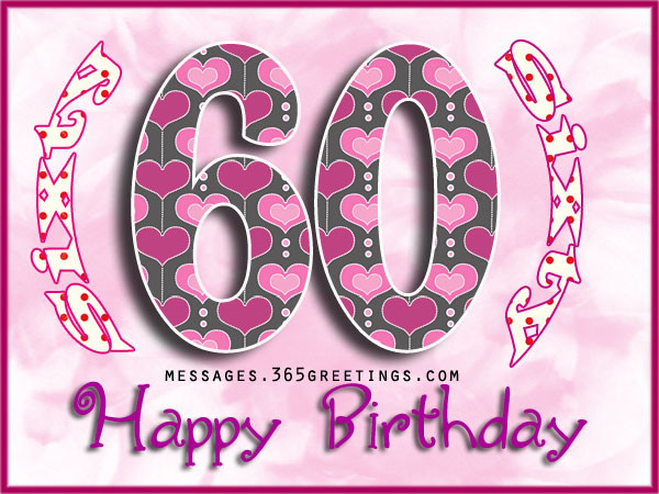 Best ideas about 60th Birthday Wishes For Female Friend . Save or Pin 60th Birthday Wishes Quotes and Messages 365greetings Now.