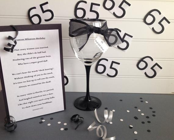 Best ideas about 65Th Birthday Gift Ideas For Mom . Save or Pin Milestone Birthday Tribute Poem Custom Tribute Birthday Now.