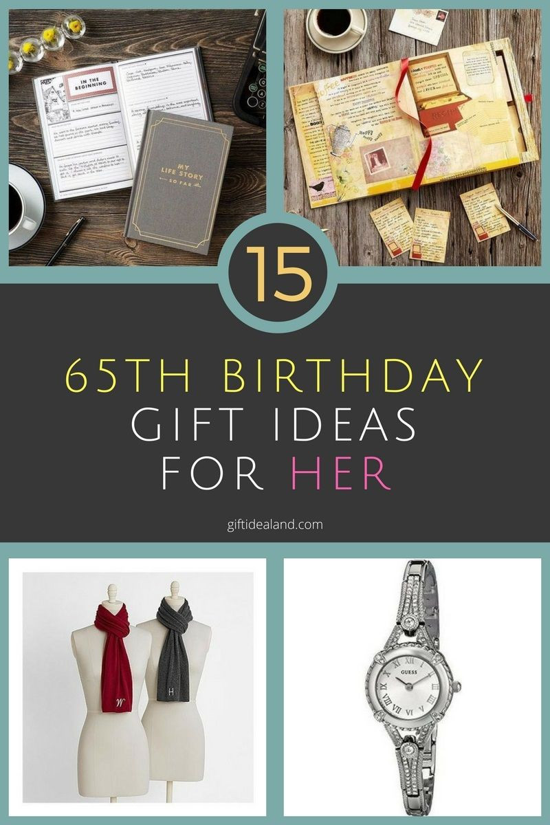 Best ideas about 65Th Birthday Gift Ideas For Mom . Save or Pin 33 Great 65th Birthday Gift Ideas For Her Mom Sister Now.