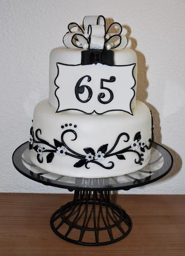Best ideas about 65Th Birthday Gift Ideas For Mom . Save or Pin 65th birthday cake suggestions Now.