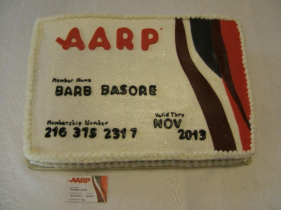 Best ideas about 65Th Birthday Gift Ideas For Mom . Save or Pin AARP idea for moms cake cake idea Now.