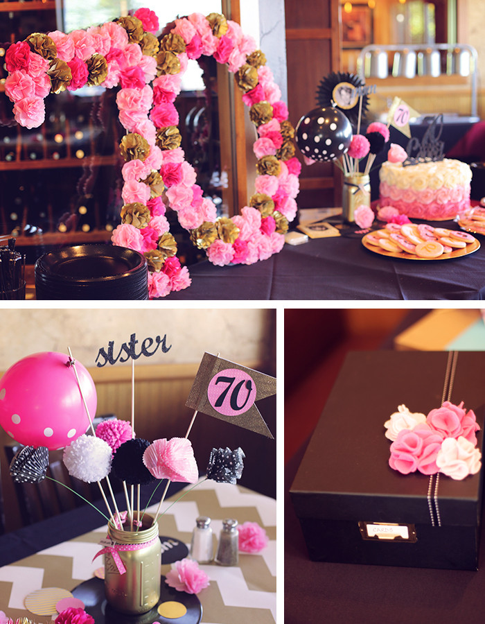 Best ideas about 70 Birthday Decorations . Save or Pin 70th birthday party ideas Archives Blue Mountain Blog Now.