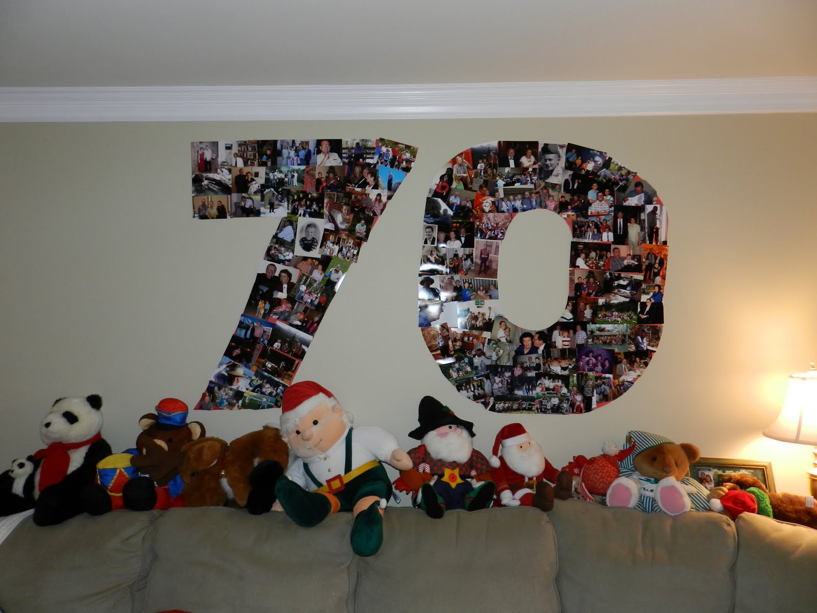 Best ideas about 70 Birthday Decorations . Save or Pin Double Trouble Happy 70th to my Dad Now.