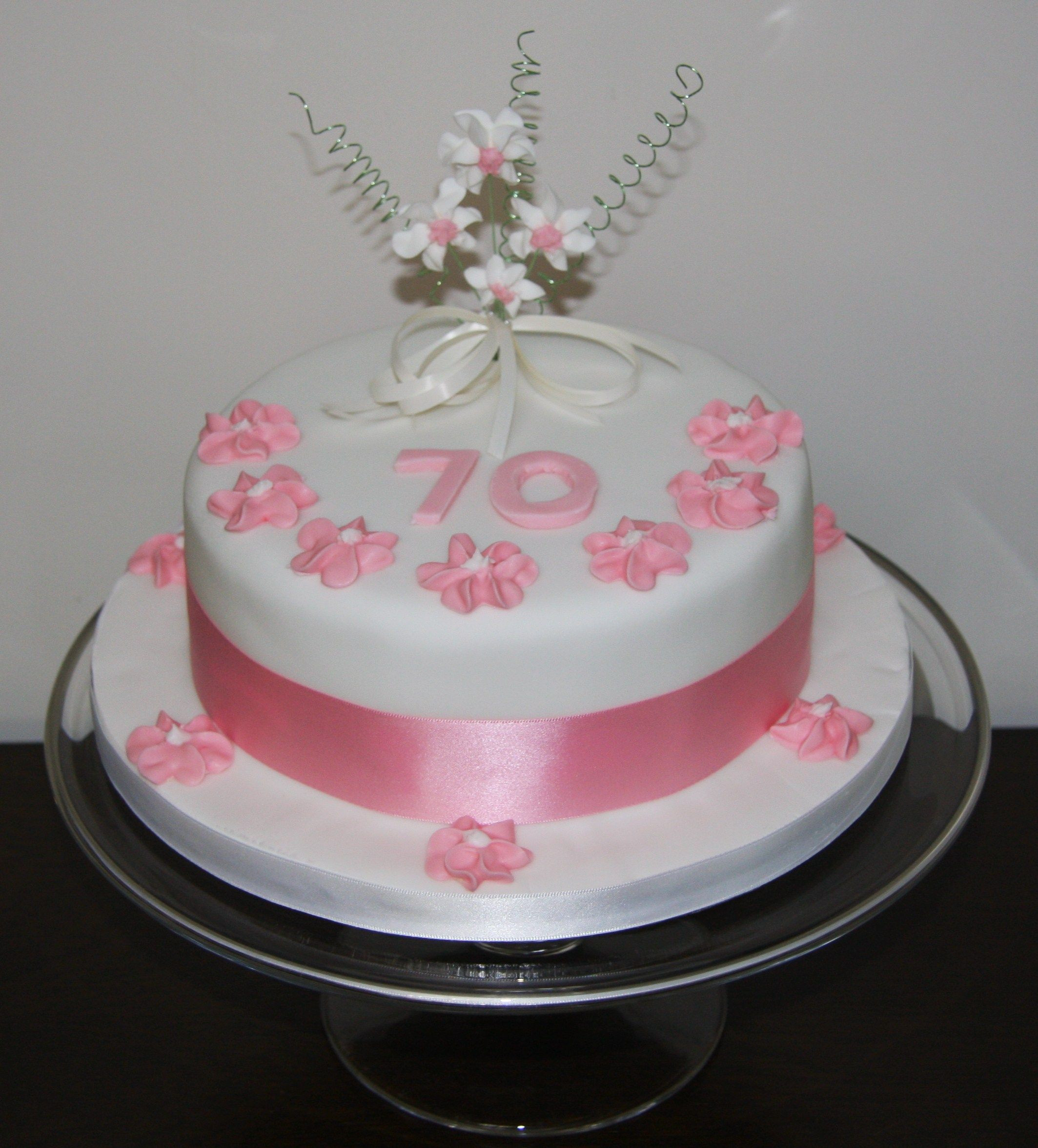Best ideas about 70th Birthday Cake Ideas . Save or Pin pink 70th cake blog 2127×2351 Now.