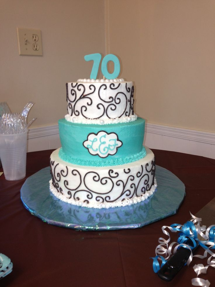 Best ideas about 70th Birthday Cake Ideas . Save or Pin 33 best images about Mom s 70th Birthday Party Ideas on Now.