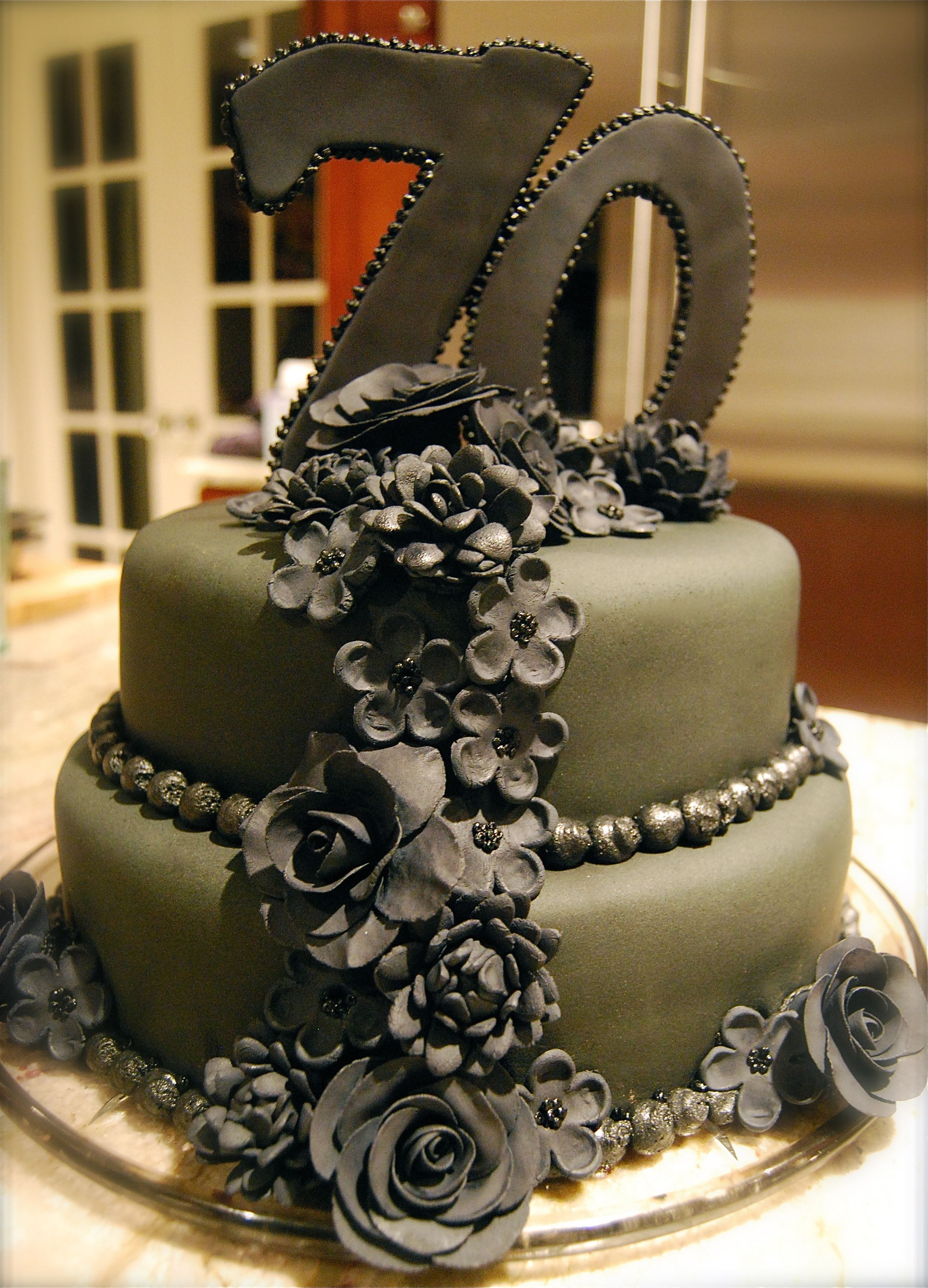 Best ideas about 70th Birthday Cake Ideas . Save or Pin 70th Birthday Cakes Cake Ideas and Designs Now.