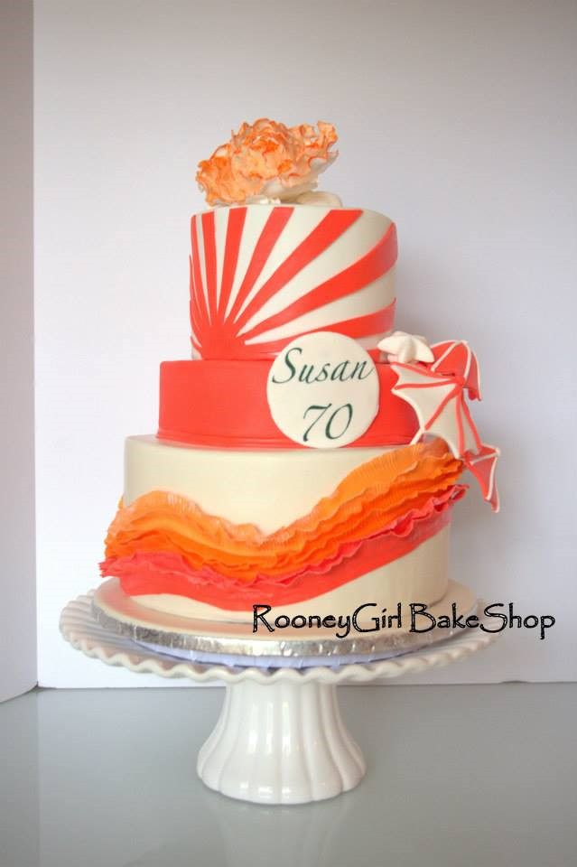 Best ideas about 70th Birthday Cake Ideas . Save or Pin Unique 70th Birthday Cake Ideas a Bud Crafty Morning Now.