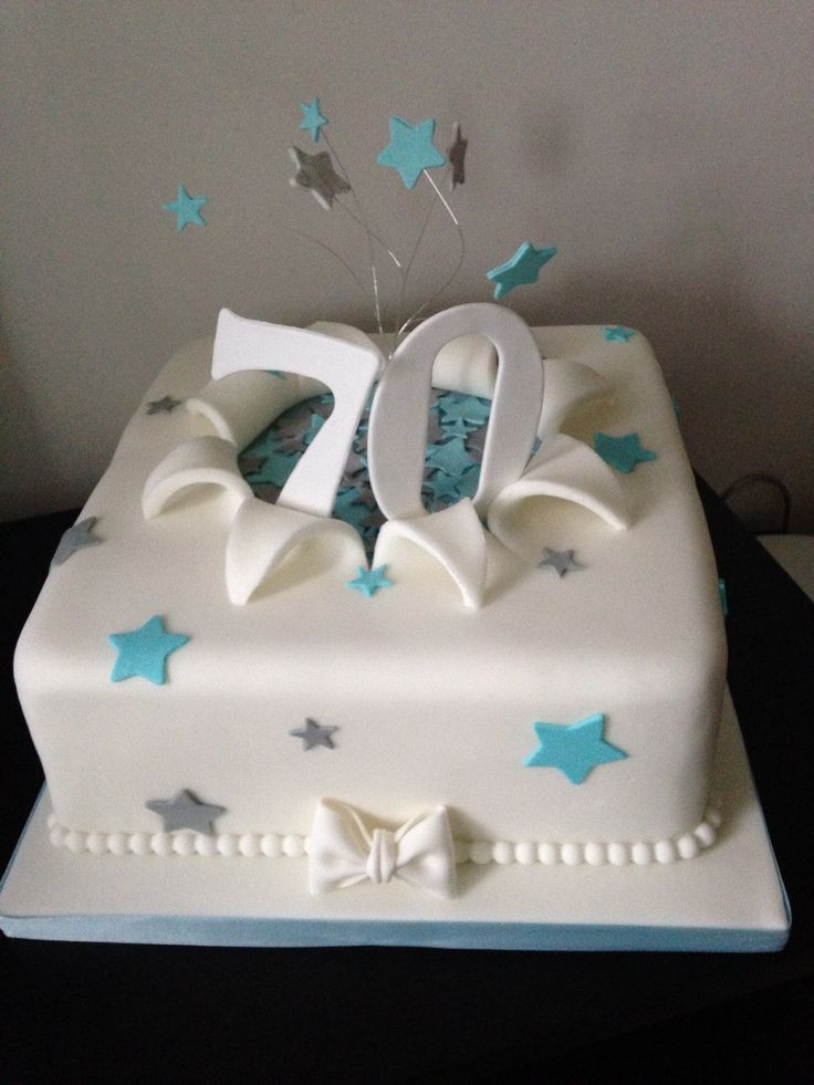 Best ideas about 70th Birthday Cake . Save or Pin 25 best ideas about 70th Birthday Cake on Pinterest Now.