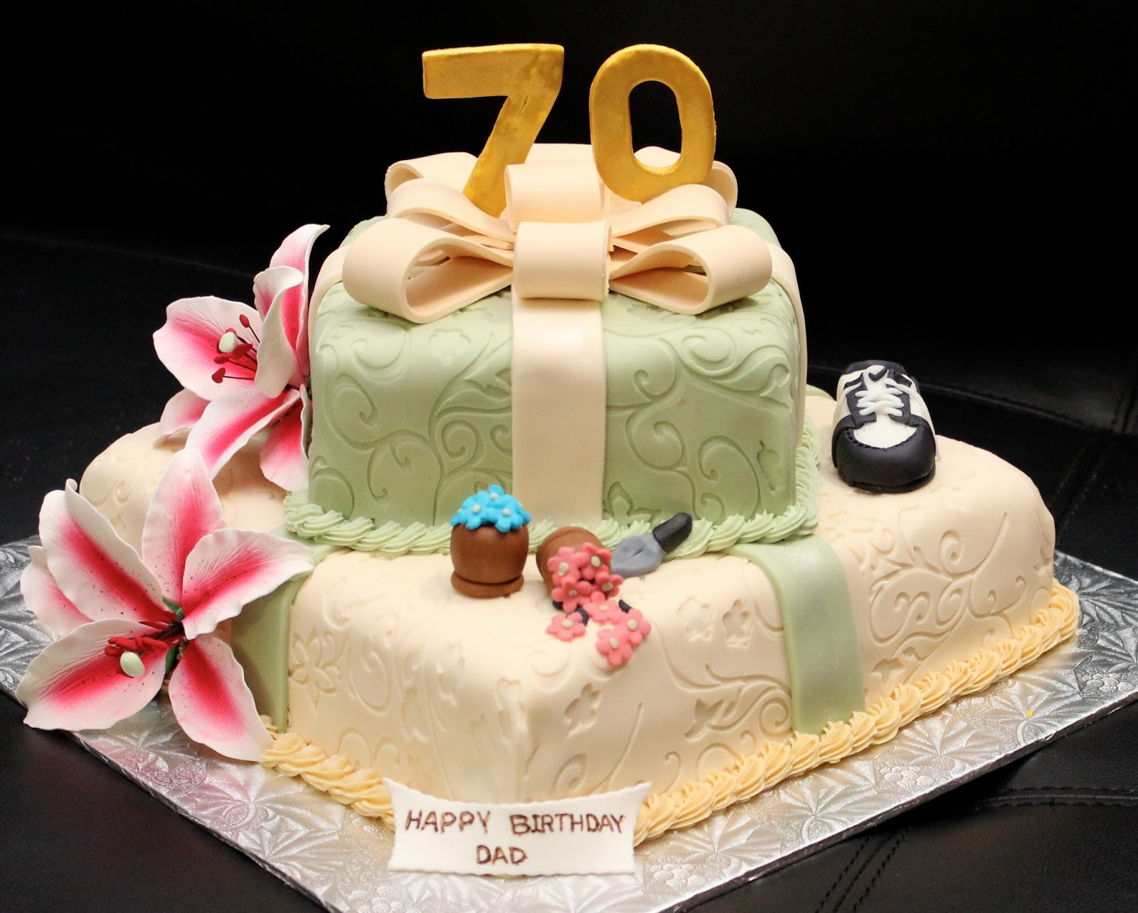 Best ideas about 70th Birthday Cake . Save or Pin Love Dem Goo s 70th Birthday Cake Now.