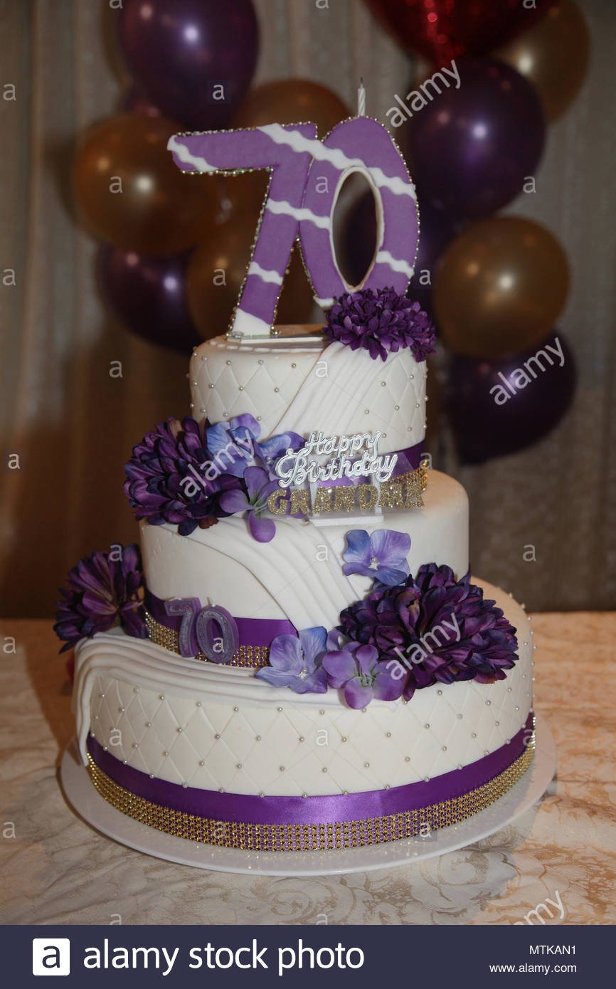 Best ideas about 70th Birthday Cake . Save or Pin 70th Birthday Cake Stock s & 70th Birthday Cake Stock Now.
