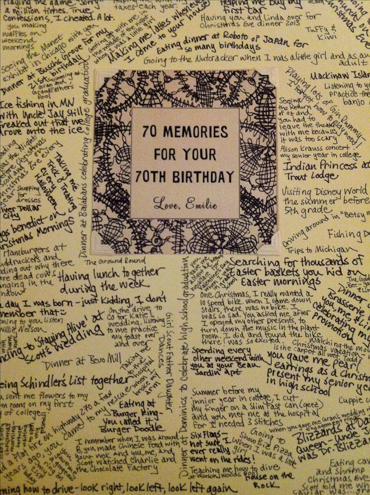 Best ideas about 70Th Birthday Gift Ideas For Dad . Save or Pin 25 Best Ideas about 70th Birthday Gifts on Pinterest Now.