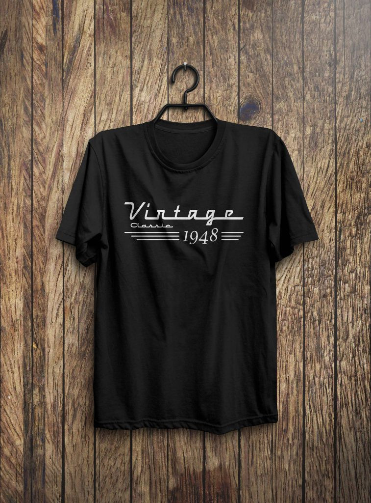 Best ideas about 70Th Birthday Gift Ideas For Men . Save or Pin 70th Birthday Gift 70th Birthday Shirt Born in 1948 Now.