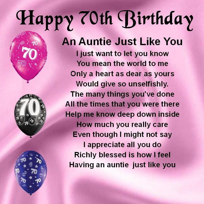 Best ideas about 70th Birthday Quotes . Save or Pin Personalised Coaster An Auntie Just Like You 70th Now.