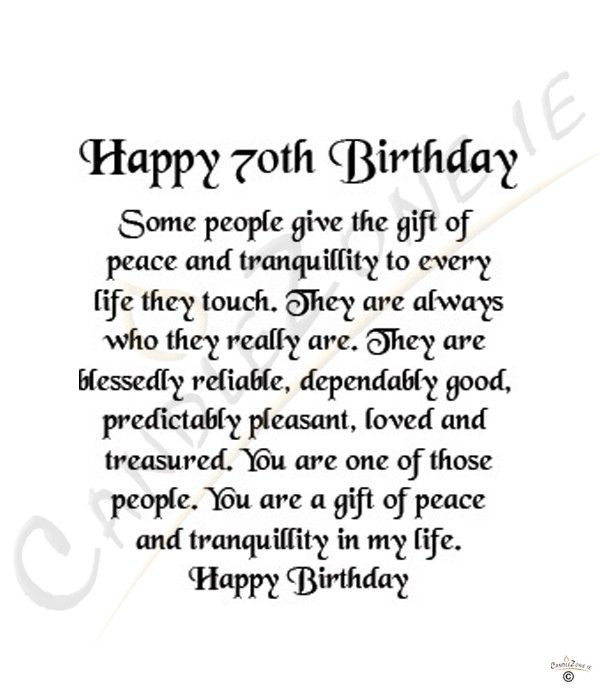 Best ideas about 70th Birthday Quotes . Save or Pin 70Th Birthday Quotes 3 Quotes Now.