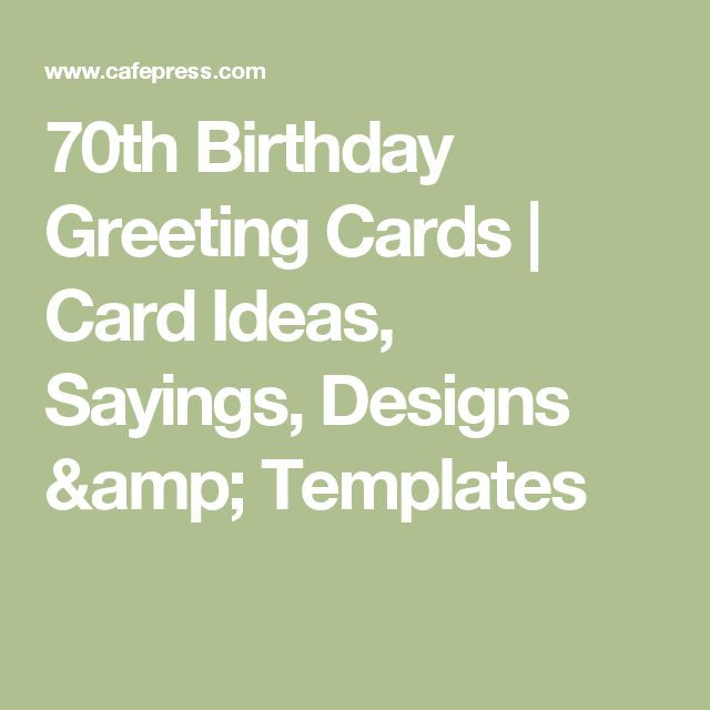 Best ideas about 70th Birthday Quotes . Save or Pin 1000 ideas about 70th Birthday Card on Pinterest Now.