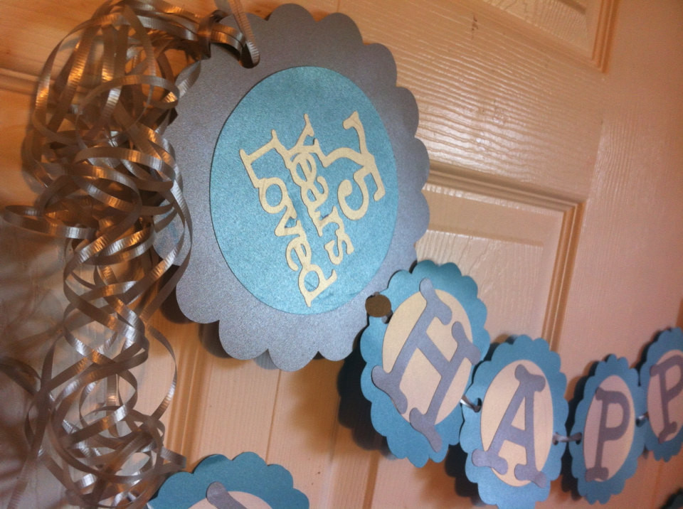 Best ideas about 75th Birthday Party Favors . Save or Pin 75th Birthday Decorations Personalization Available Now.