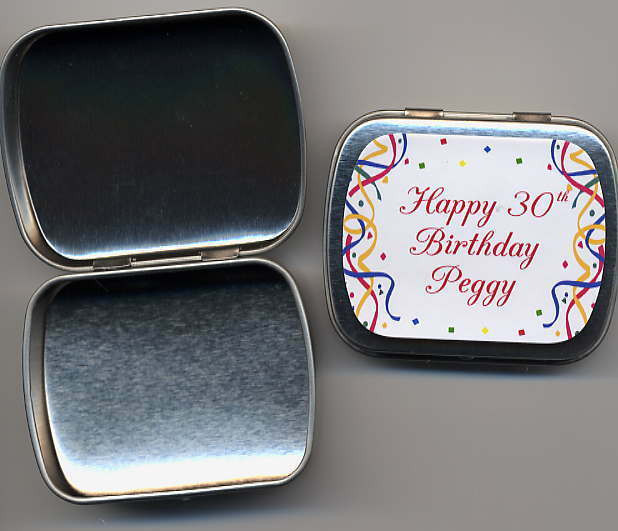 Best ideas about 75th Birthday Party Favors . Save or Pin 80th 85th 90th Birthday Party Favors Mint Tins 3 design Now.