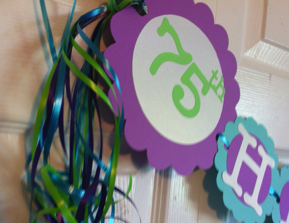 Best ideas about 75th Birthday Party Favors . Save or Pin 75th Birthday Decorations Tropical Theme Party Now.