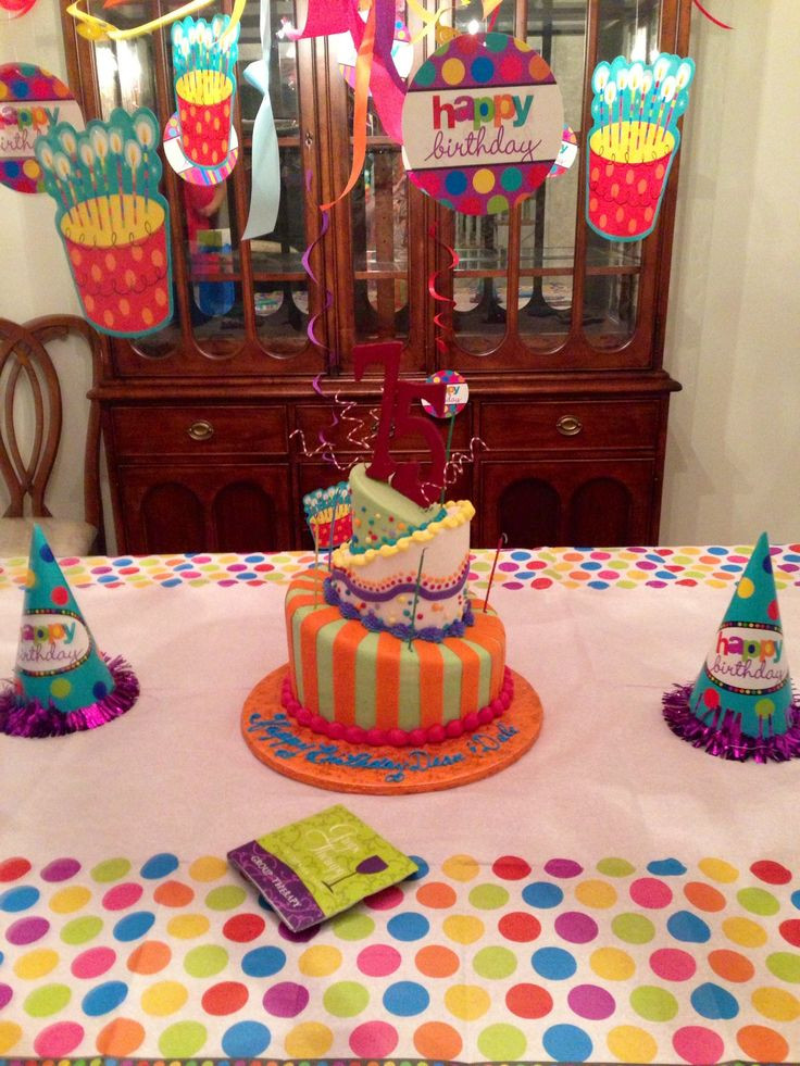 Best ideas about 75th Birthday Party Ideas . Save or Pin 18 best images about 75th birthday Party ideas on Now.