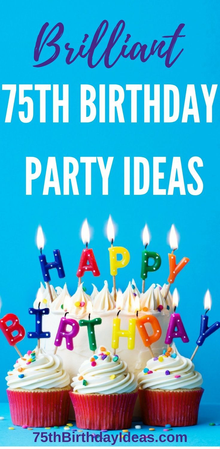 Best ideas about 75th Birthday Party Ideas . Save or Pin Best 25 75th birthday decorations ideas on Pinterest Now.