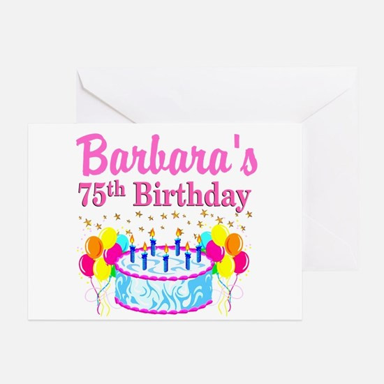 Best ideas about 75th Birthday Wishes . Save or Pin 75Th Birthday 75th Birthday Greeting Cards Now.
