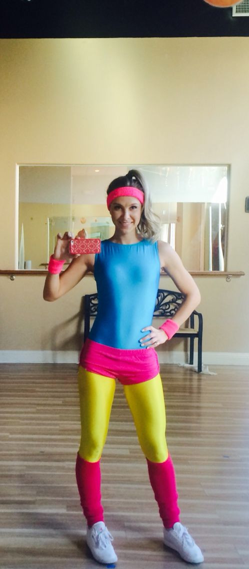Best ideas about 80S Workout Costume DIY . Save or Pin 80s Halloween costume let s physical Now.