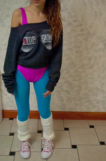 Best ideas about 80S Workout Costume DIY . Save or Pin 80 s Outfits To Wear To Theme Parties Halloween Night Now.