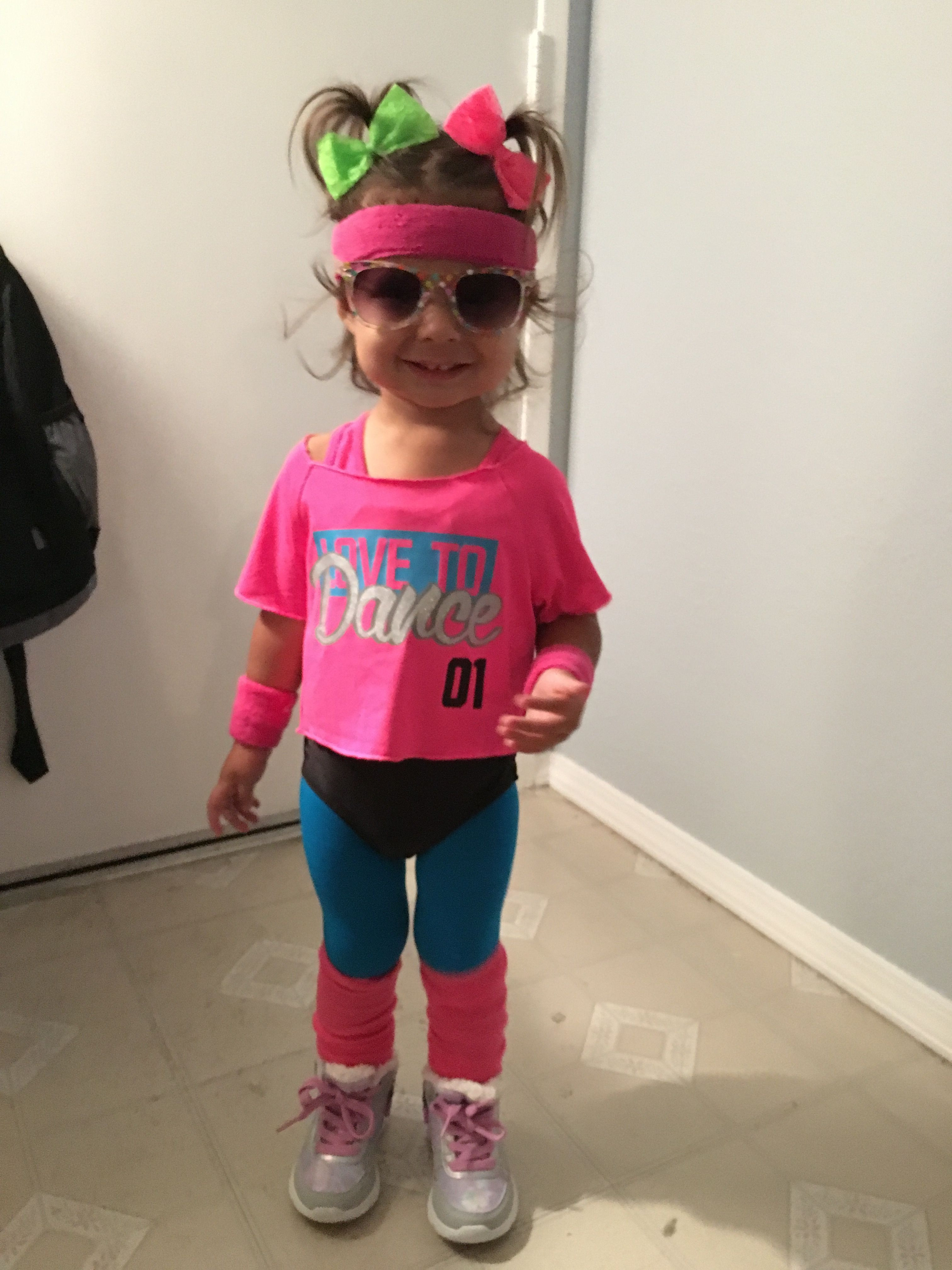 Best ideas about 80S Workout Costume DIY . Save or Pin Toddler 80 s workout costume Halloween Now.