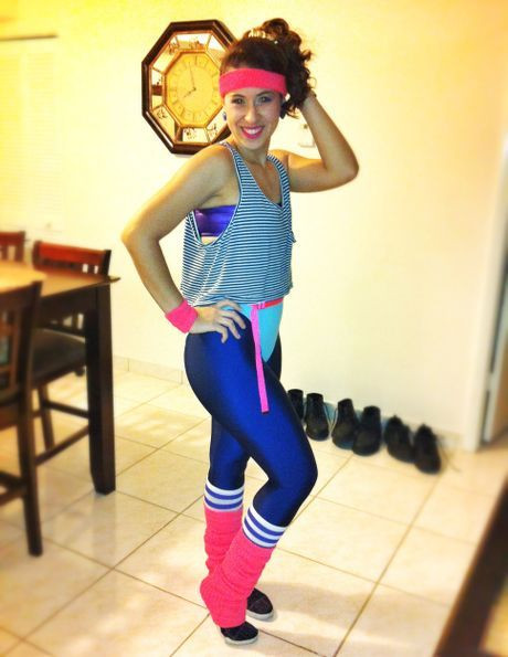 Best ideas about 80S Workout Costume DIY . Save or Pin 80 s Aerobics Instructor The American Apparel Halloween Now.