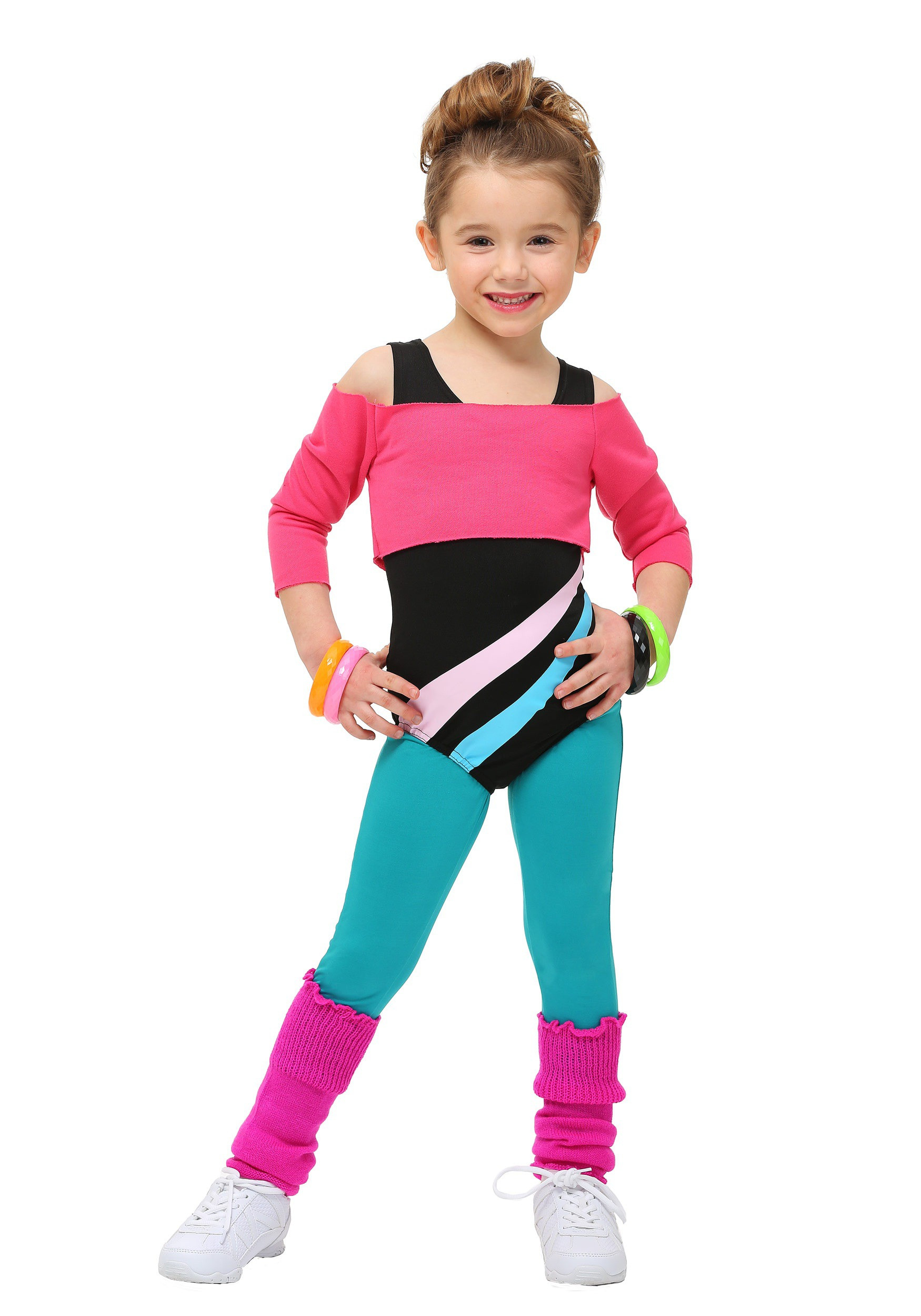 Best ideas about 80S Workout Costume DIY . Save or Pin Toddler 80 s Workout Girl Costume Now.