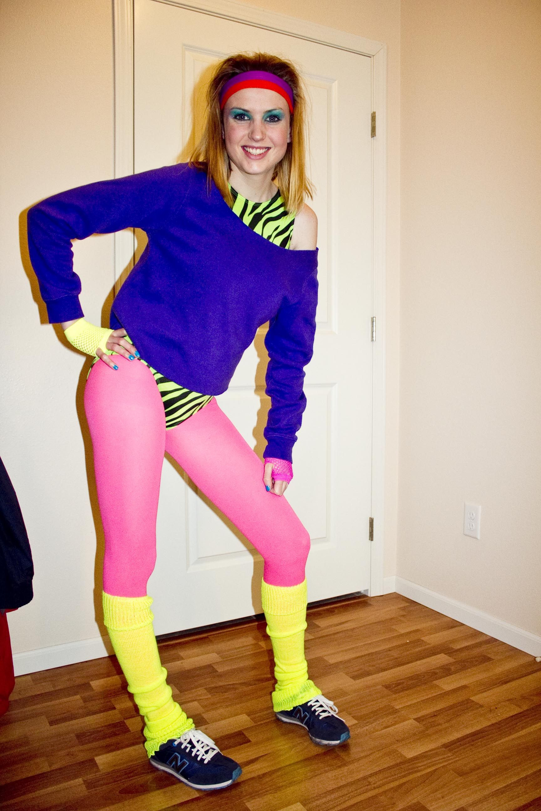 Best ideas about 80S Workout Costume DIY . Save or Pin IMG 9323 80s costumes Now.