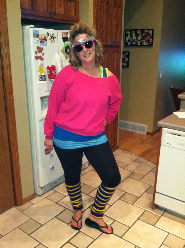 Best ideas about 80S Workout Costume DIY . Save or Pin Pin by Sarah Hicks on 80s party ideas Now.