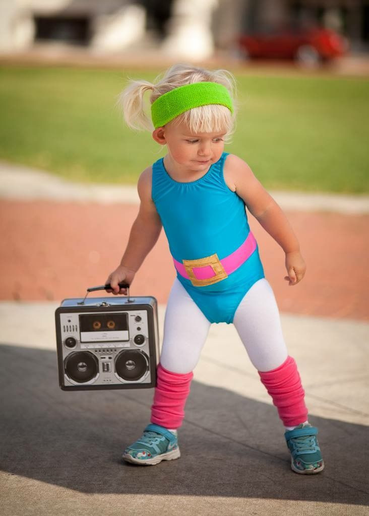 Best ideas about 80S Workout Costume DIY . Save or Pin DIY 1980 s toddler workout girl Now.