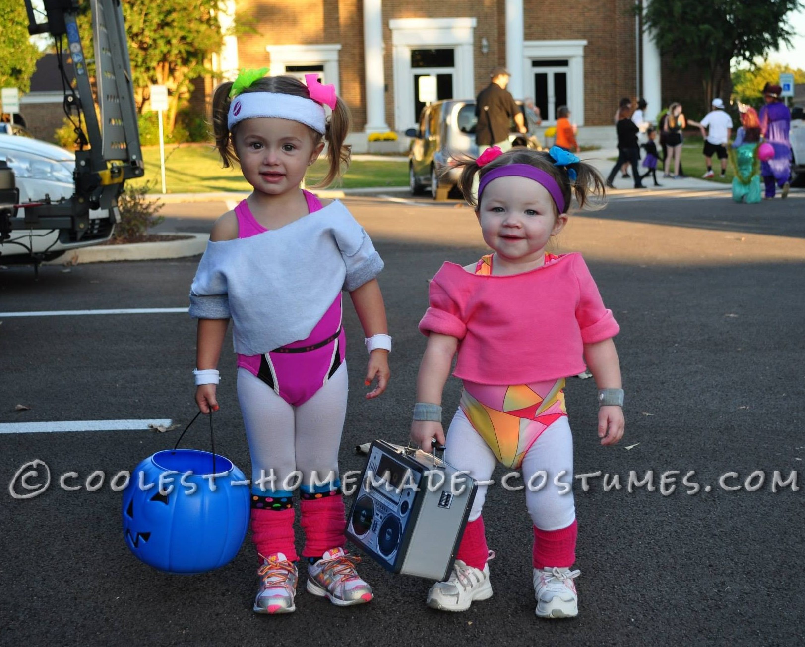 Best ideas about 80S Workout Costume DIY . Save or Pin Cutest 80 s Workout Girls Couple Costume for Toddlers Now.