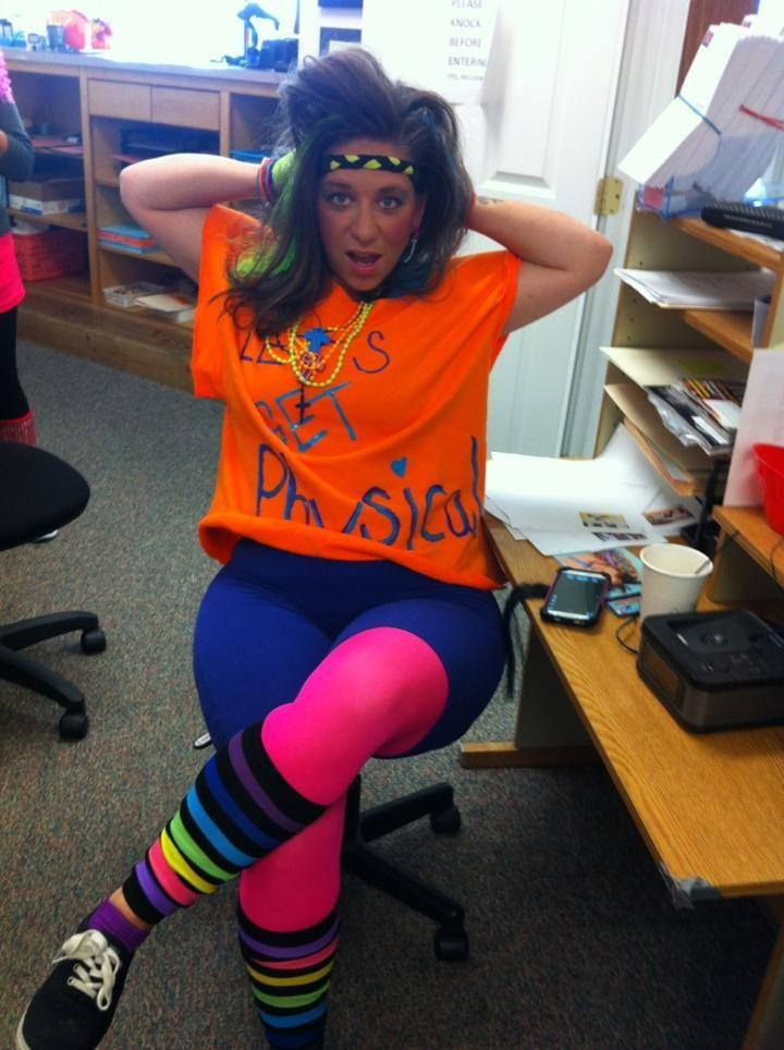 Best ideas about 80S Workout Costume DIY . Save or Pin 80 s workout gear for Halloween DIY fun costumes 80 s Now.