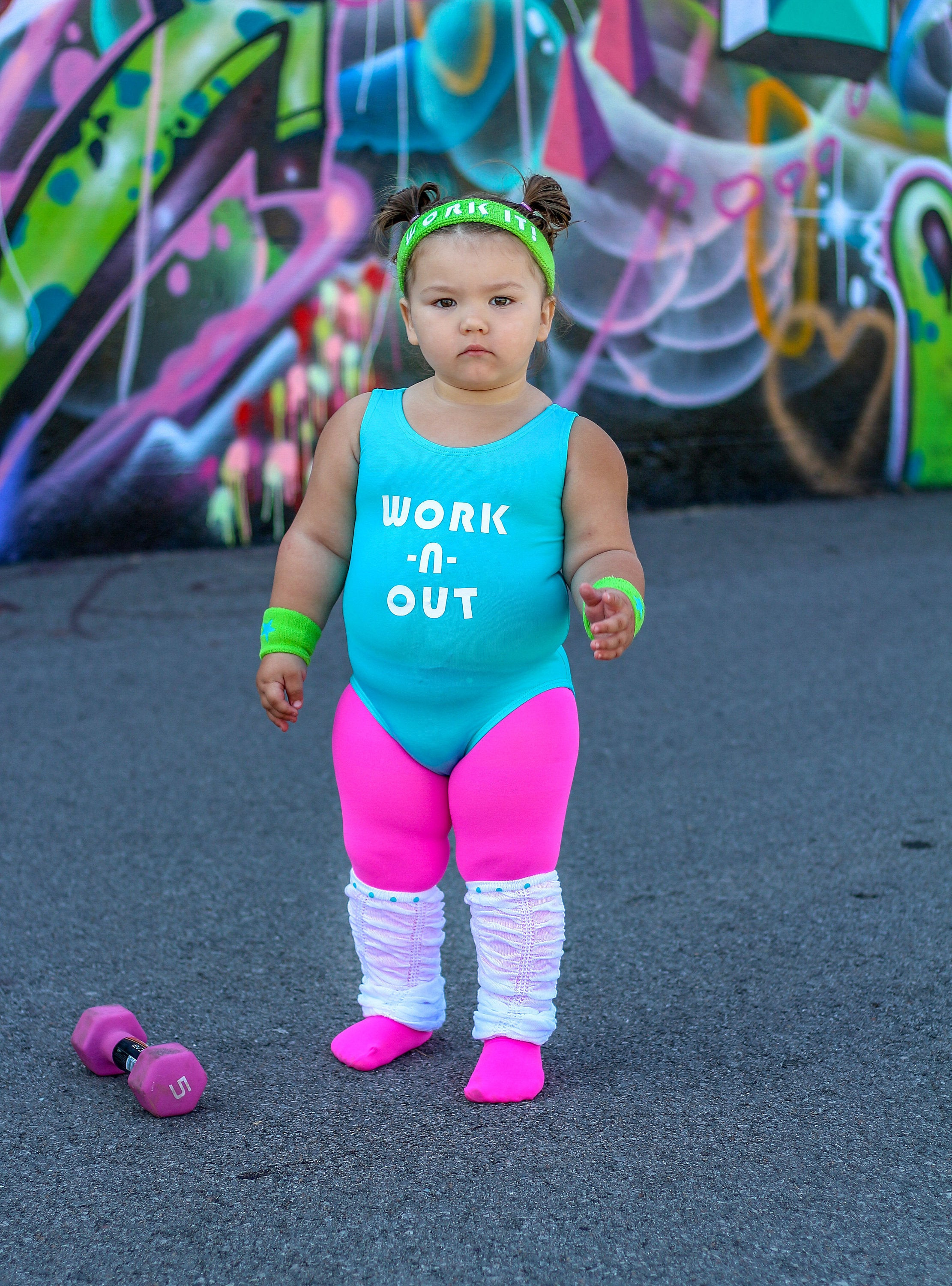 Best ideas about 80S Workout Costume DIY . Save or Pin Girls 80s Halloween Costume Toddler Workout Costume Girls Now.