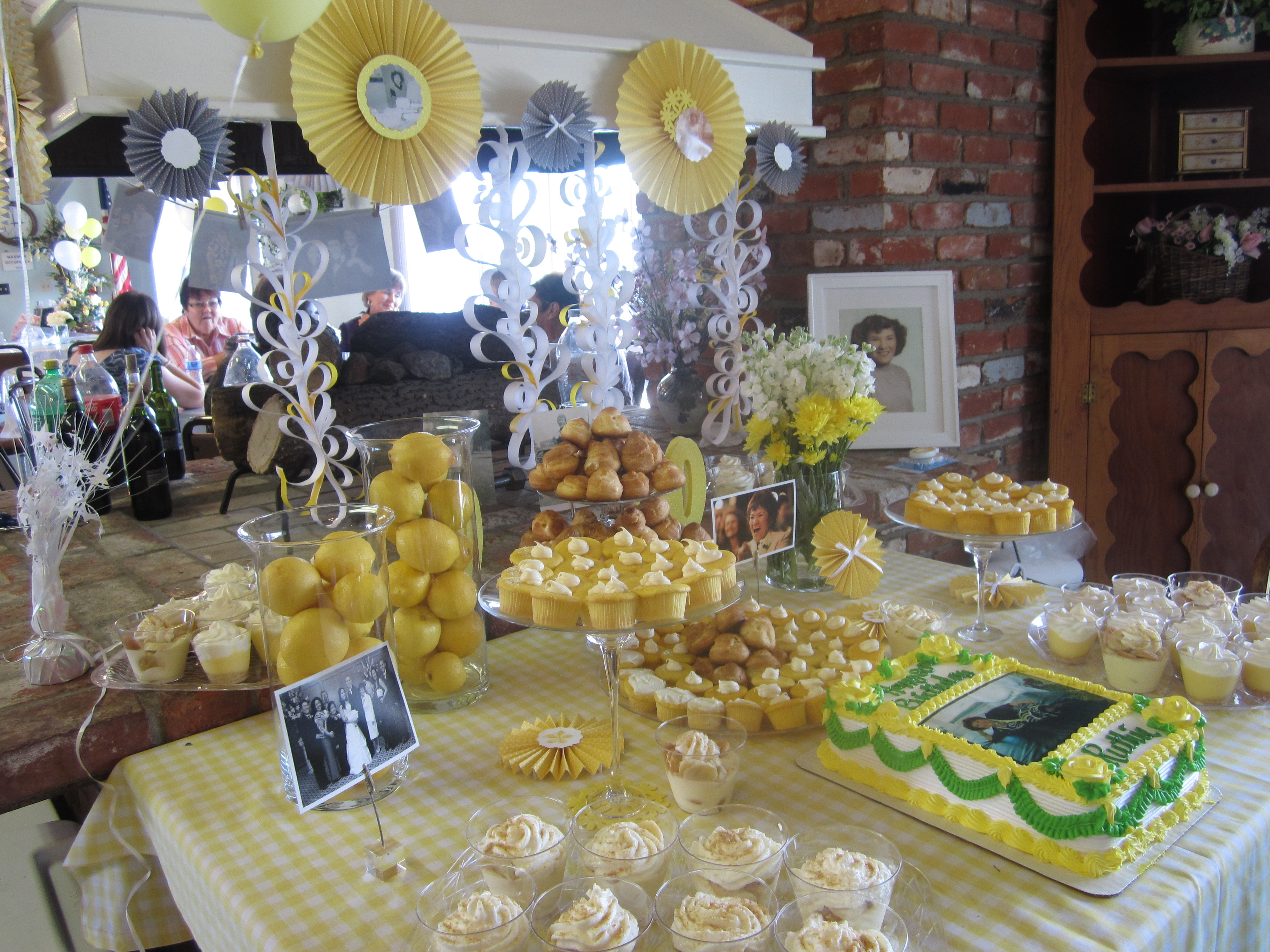 Best ideas about 80th Birthday Decor . Save or Pin Granny's 80th Birthday Celebration and Catering Now.