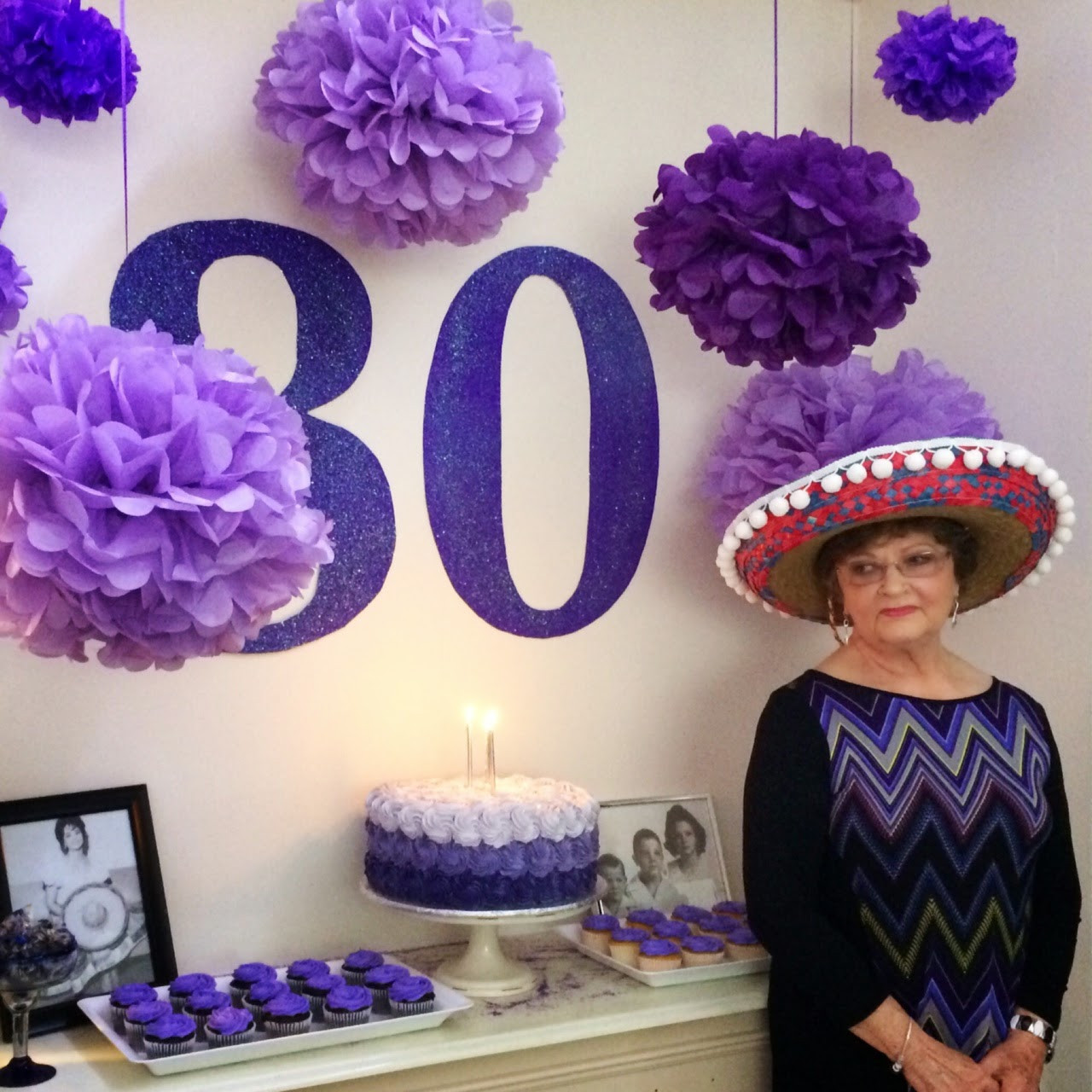 Best ideas about 80th Birthday Decor . Save or Pin Southern FIT 80th Birthday Party & Decor Now.