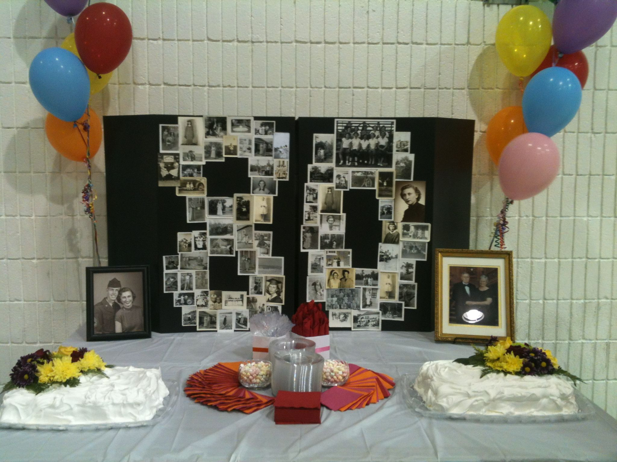 Best ideas about 80th Birthday Decor . Save or Pin 80th Birthday decoration Craft Ideas Now.