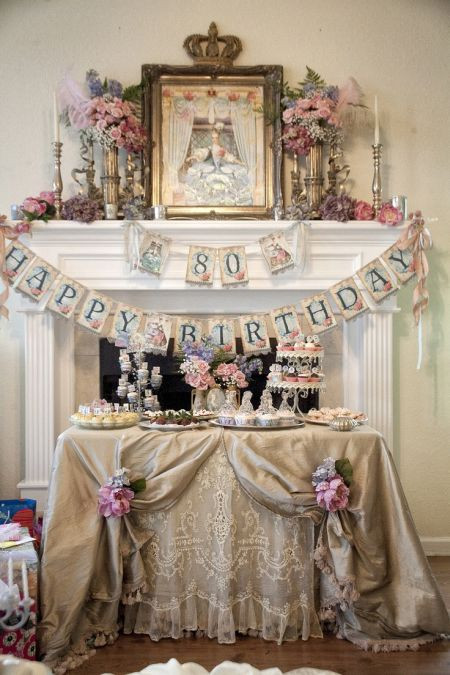 Best ideas about 80th Birthday Decor . Save or Pin 80th Birthday Decorations Now.