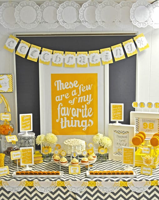 Best ideas about 80th Birthday Decor . Save or Pin 80th Birthday Ideas The Best Party Ideas Gifts Now.