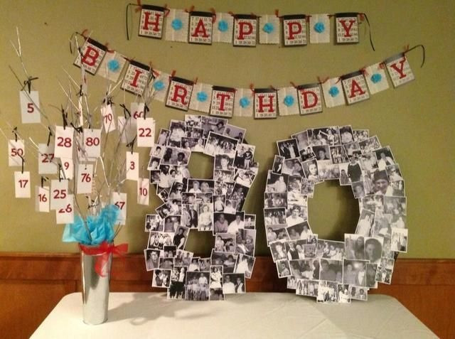 Best ideas about 80th Birthday Decorations . Save or Pin 18 Best Ideas to Plan 80th Birthday Party for Your Close Now.