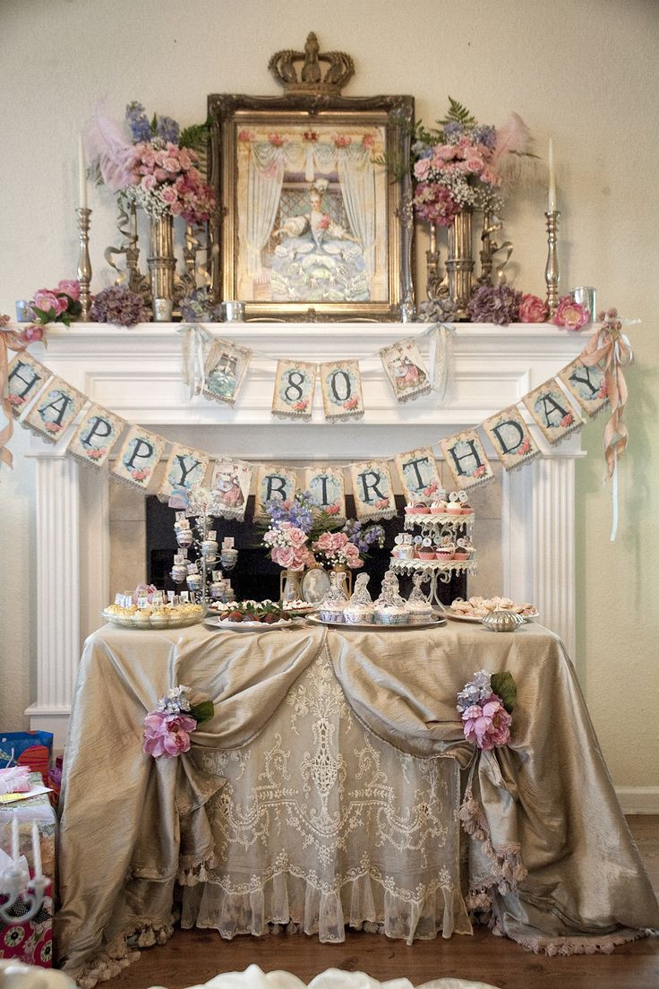Best ideas about 80th Birthday Decorations . Save or Pin Top 25 ideas about 80th Birthday Decorations on Pinterest Now.