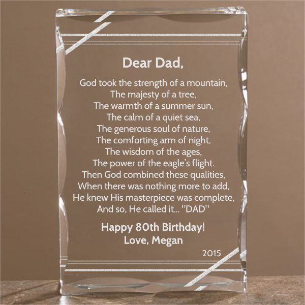 Best ideas about 80th Birthday Gift Ideas . Save or Pin 80th Birthday Gift Ideas for Dad Now.