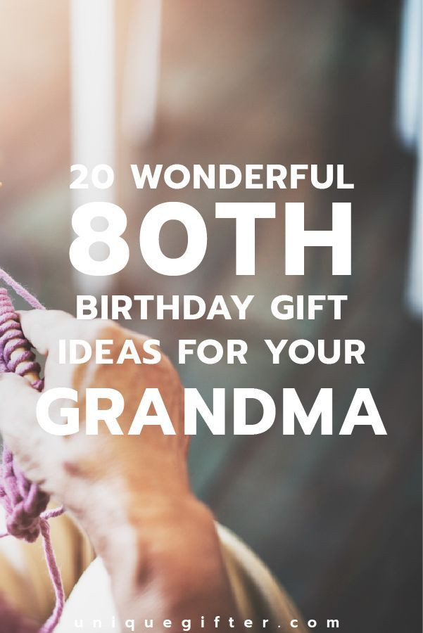 Best ideas about 80th Birthday Gift Ideas . Save or Pin 17 Best ideas about Grandma Birthday Presents on Pinterest Now.