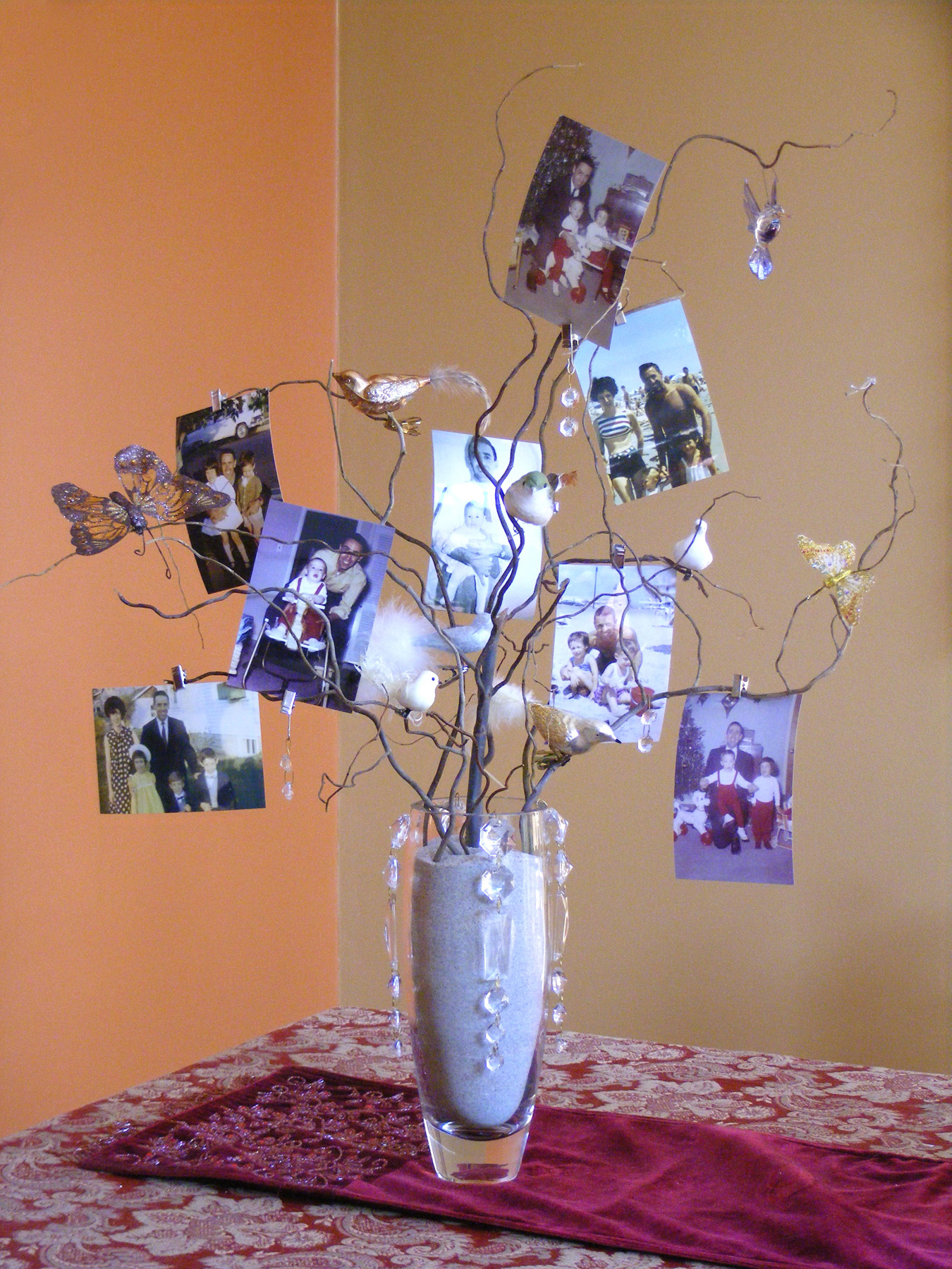 Best ideas about 80th Birthday Party Decorations For Table . Save or Pin Dad's 80th Birthday Party Now.