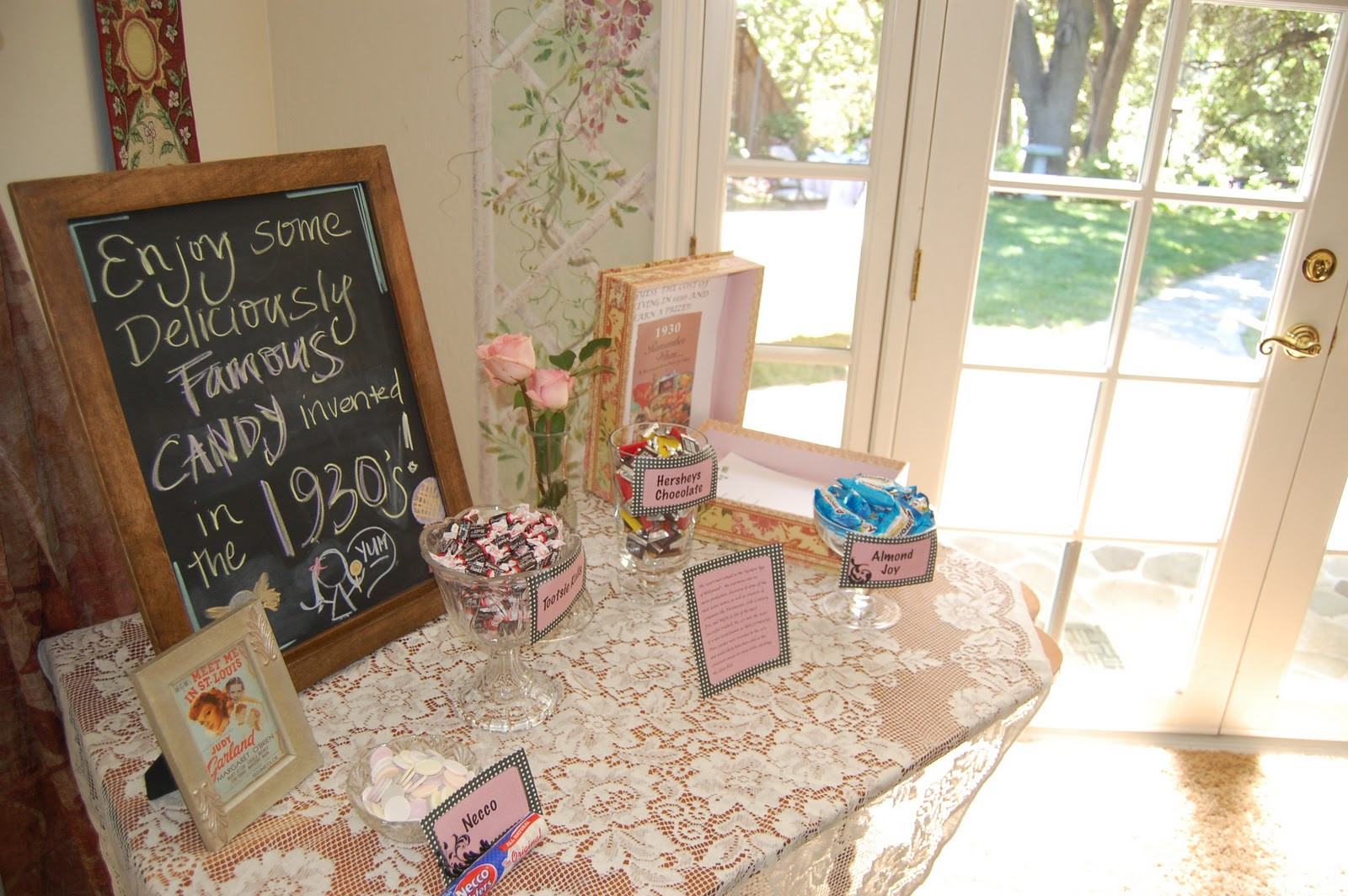 Best ideas about 80th Birthday Party Decorations For Table . Save or Pin Grandma s Vintage 80th Birthday Michaela Noelle Designs Now.