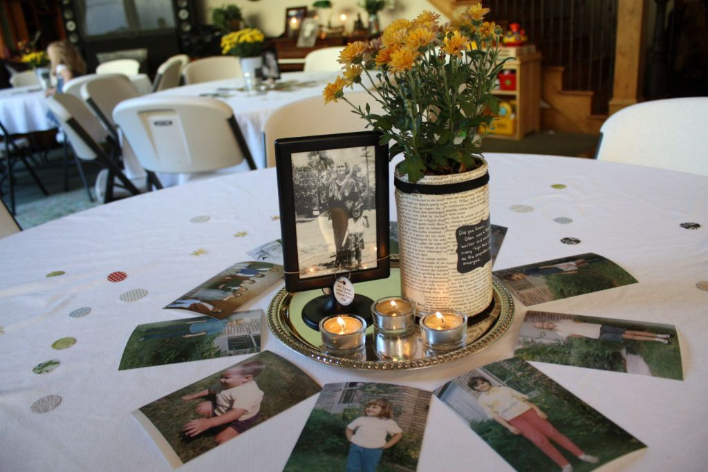 Best ideas about 80th Birthday Party Decorations For Table . Save or Pin just what i squeeze in 80th Birthday Celebration Now.