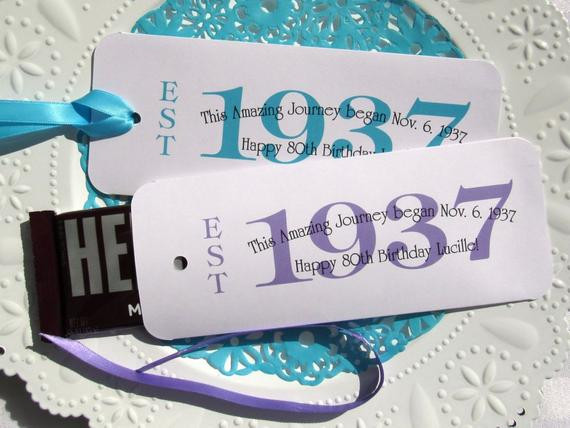 Best ideas about 80th Birthday Party Favors . Save or Pin 80th Birthday 80th Party Favors Favors For 80th Now.