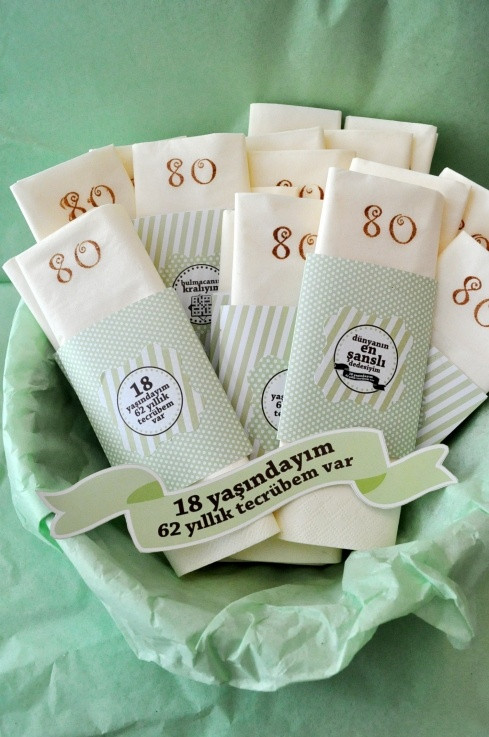Best ideas about 80th Birthday Party Favors . Save or Pin 36 best 80th birthday party ideas images on Pinterest Now.